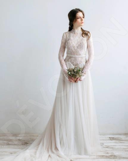 3 4 Sleeve Modest Wedding Dresses